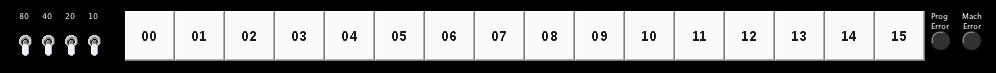Wang Series 700 programming keypads