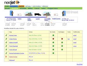 NextJet Web Application