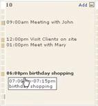Scrybe Calendar Dragevent
